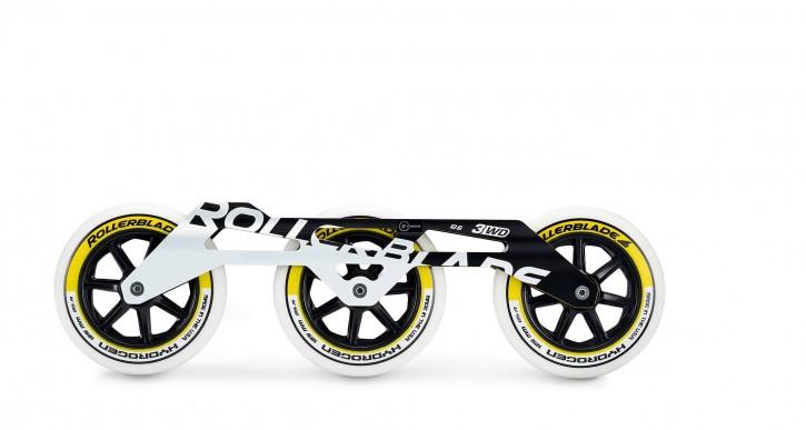 Rollerblade 3WD 3x125mm mit Rollen