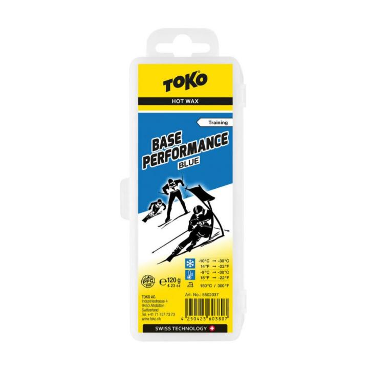 Toko Base Performance Hot Wax blue