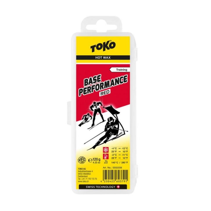 Toko Base Performance hot wax red