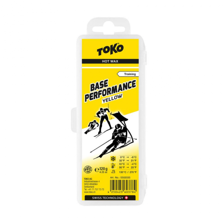 Toko Base Performance hot wax yellow