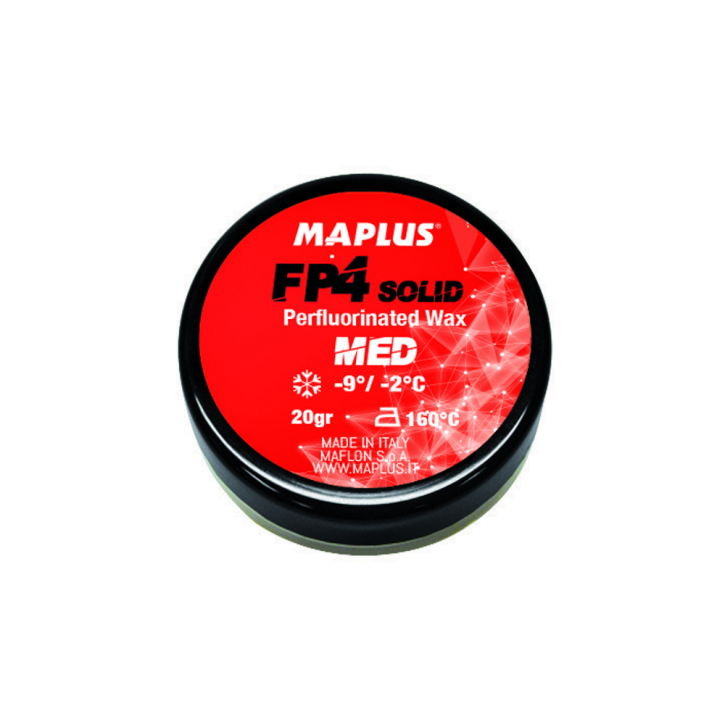 Briko-Maplus FP4 - Med Perfluorinated Solid Wax