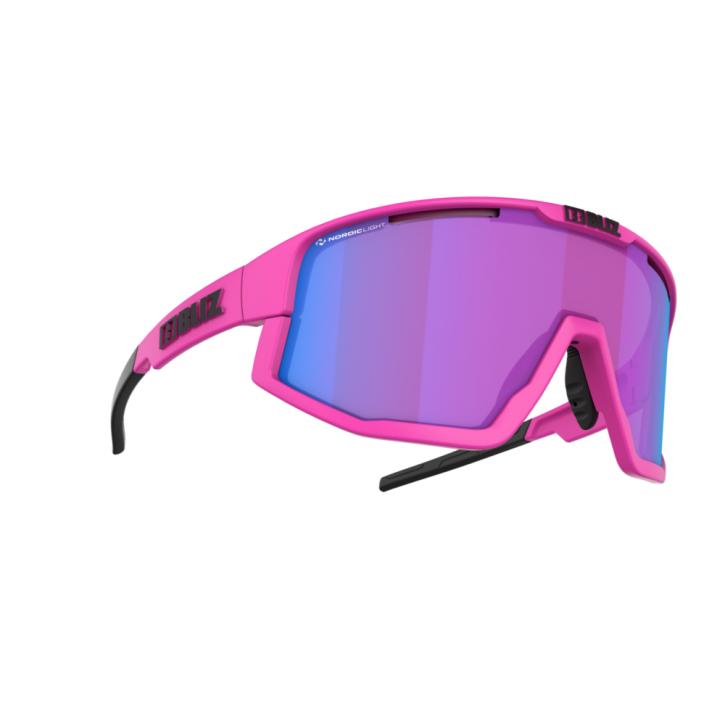 Bliz Fusion Nano Optics Nordic Light- matt neon pink-