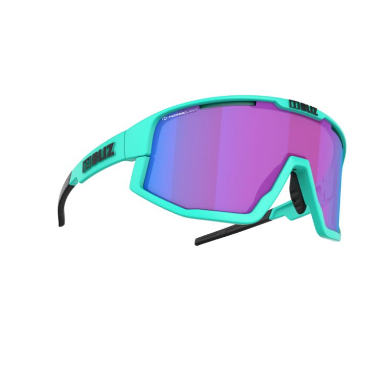 Bliz Fusion Nano Optics Nordic Light- matt Turquoise-