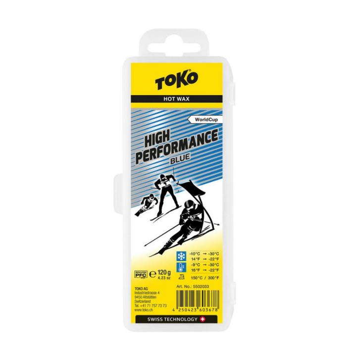 Toko High Performance hot wax blue