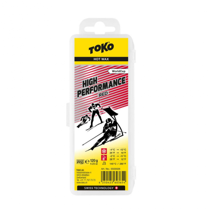 Toko High Performance hot wax red