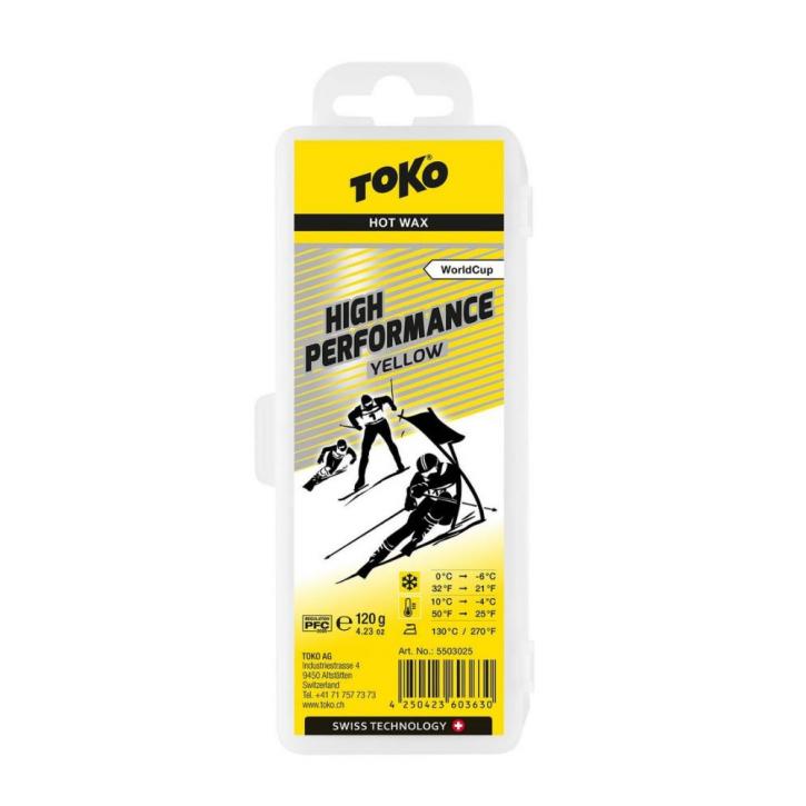 Toko High Performance Hot Wax yellow