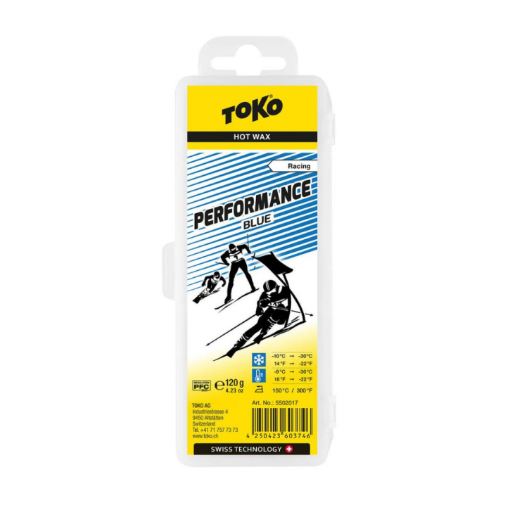 Toko Performance Hot Wax Blue