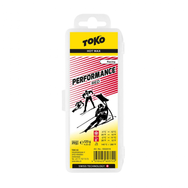 Toko Performance Hot Wax Red