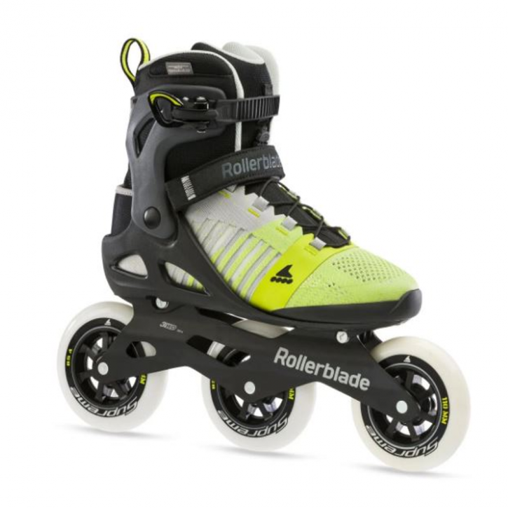 Rollerblade Macroblade 110 3WD (grey yellow,lime) M